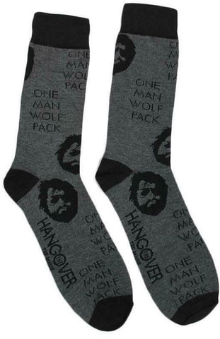 The Hangover One Man Wolf Pack Crew Socks