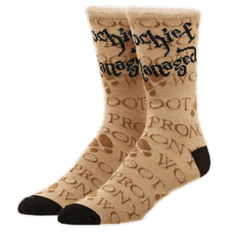 Harry Potter Mischief Managed Marauder's Map Crew Socks
