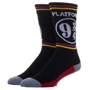 Harry Potter 9 75 3/4 Platform Athletic Crew Socks