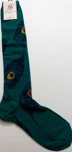 Peacock Knee High (Emerald or Ocean)