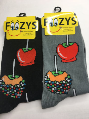 Candy Apples Foozys Womens Crew Socks