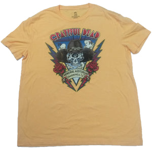 Grateful Dead 1978 Memorial Auditorium Bakersfield CA Mens T-shirt