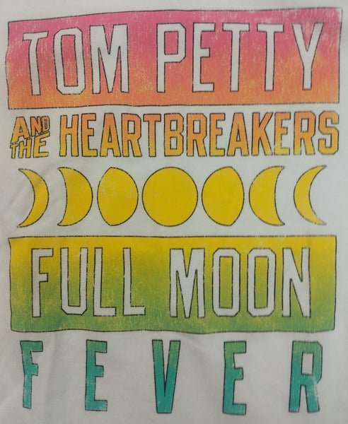 TOM PETTY AND THE HEARTBREAKERS FULL MOON FEVER MEN'S T-SHIRT