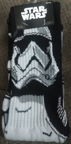 StormTrooper Star Wars LucasFilm Crew Socks