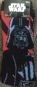 Darth Vader Star Wars LucasFilm Crew Socks