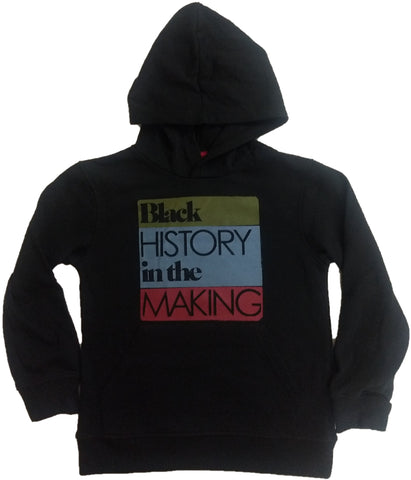 Black History in the Making Boys Youth Sweatshirt Pullover Hoodie
