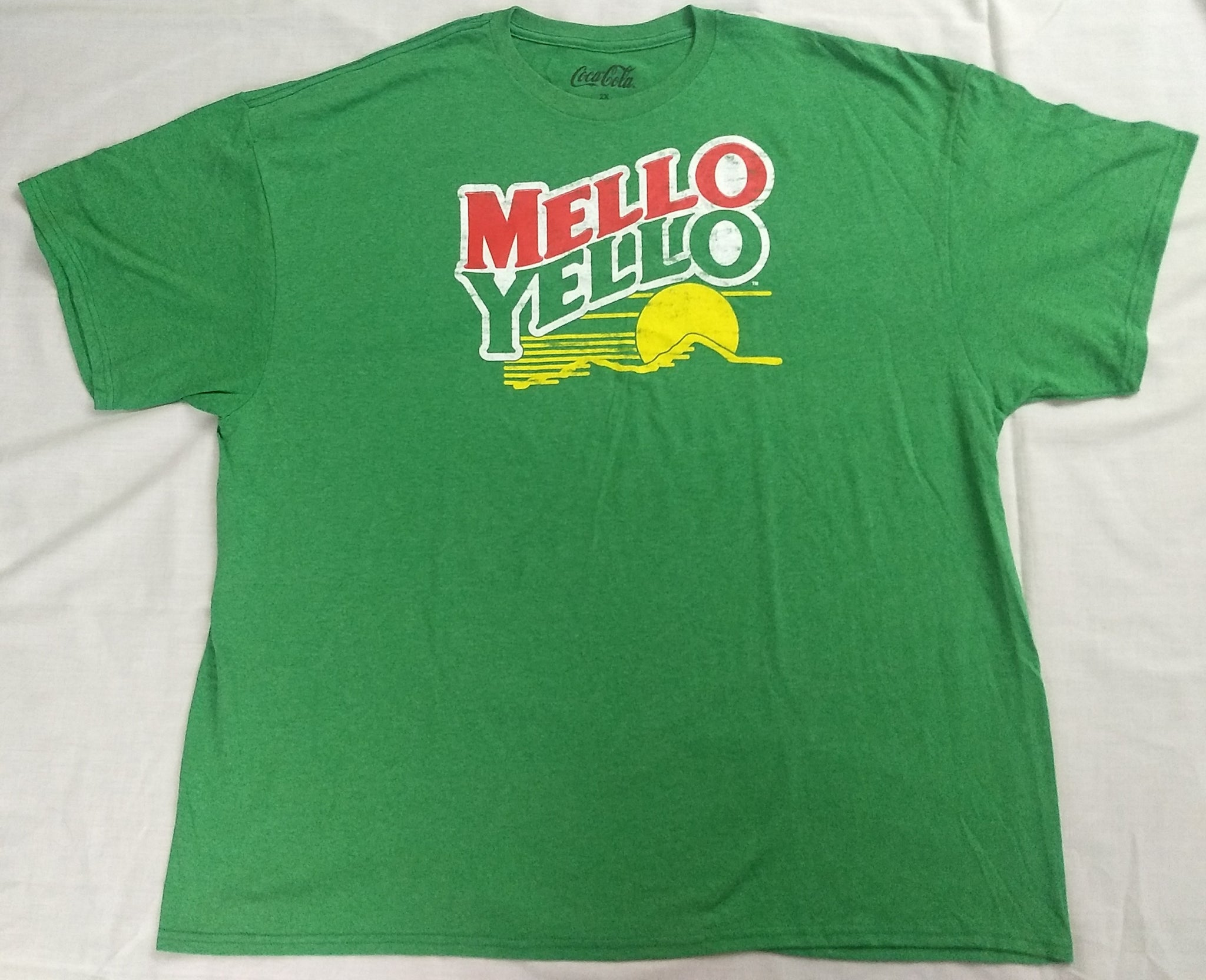 Mello Yello Soda Pop Coca-Cola Mens T-Shirt