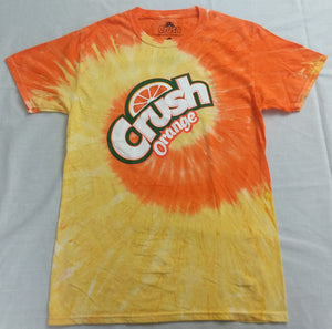 Orange Crush Tie Dye Soda Pop Coca-Cola Mens T-Shirt