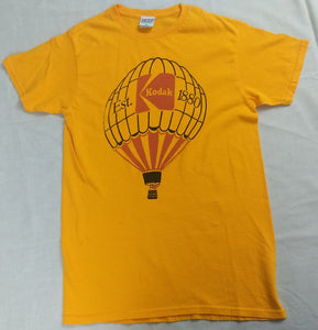 Kodak 1880 Air Balloon Camera Ultra Film Mens T-Shirt (Yellow)