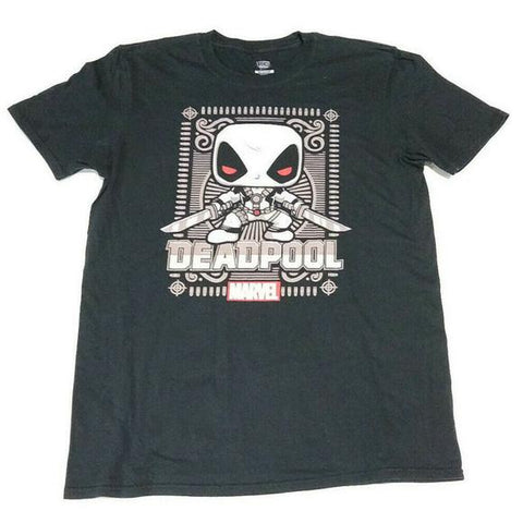 Marvel Deadpool Funko Pop Tee Mens New T-shirt