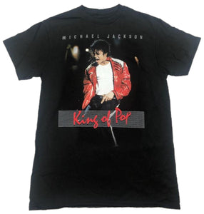 Michael Jackson King of Pop Mens T-Shirt
