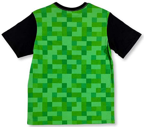 Minecraft SSSS Creeper Boys T-Shirt Tee