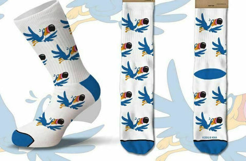 KELLOGG'S FRUIT LOOPS TOUCAN SAM CEREAL Men's Crew COOL SOCKS