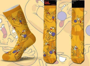 Nickelodeon CATDOG Men's Crew COOL SOCKS