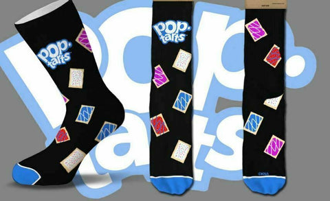 POP TARTS Breakfast Men's Crew COOL SOCKS