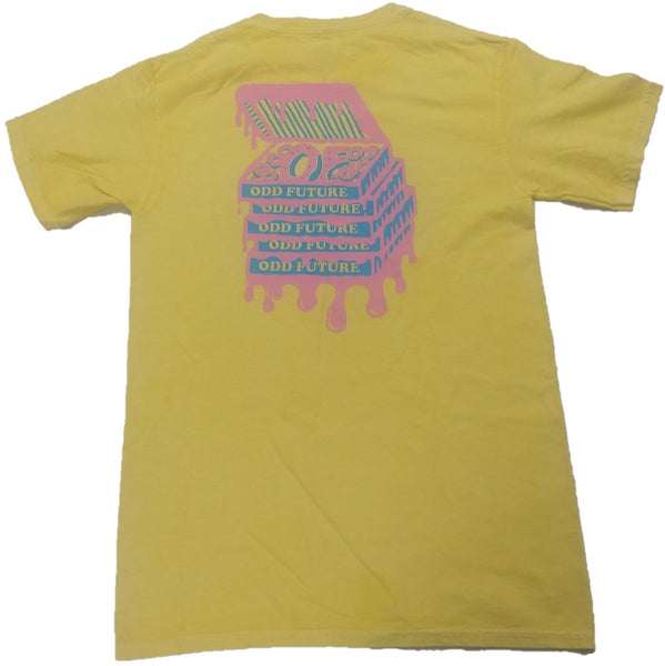 OFWGKTA Odd Future Wolf Gang Kill Them All Mens Yellow T-Shirt