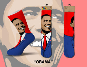 Barrack Obama Men's Crew Cool Socks