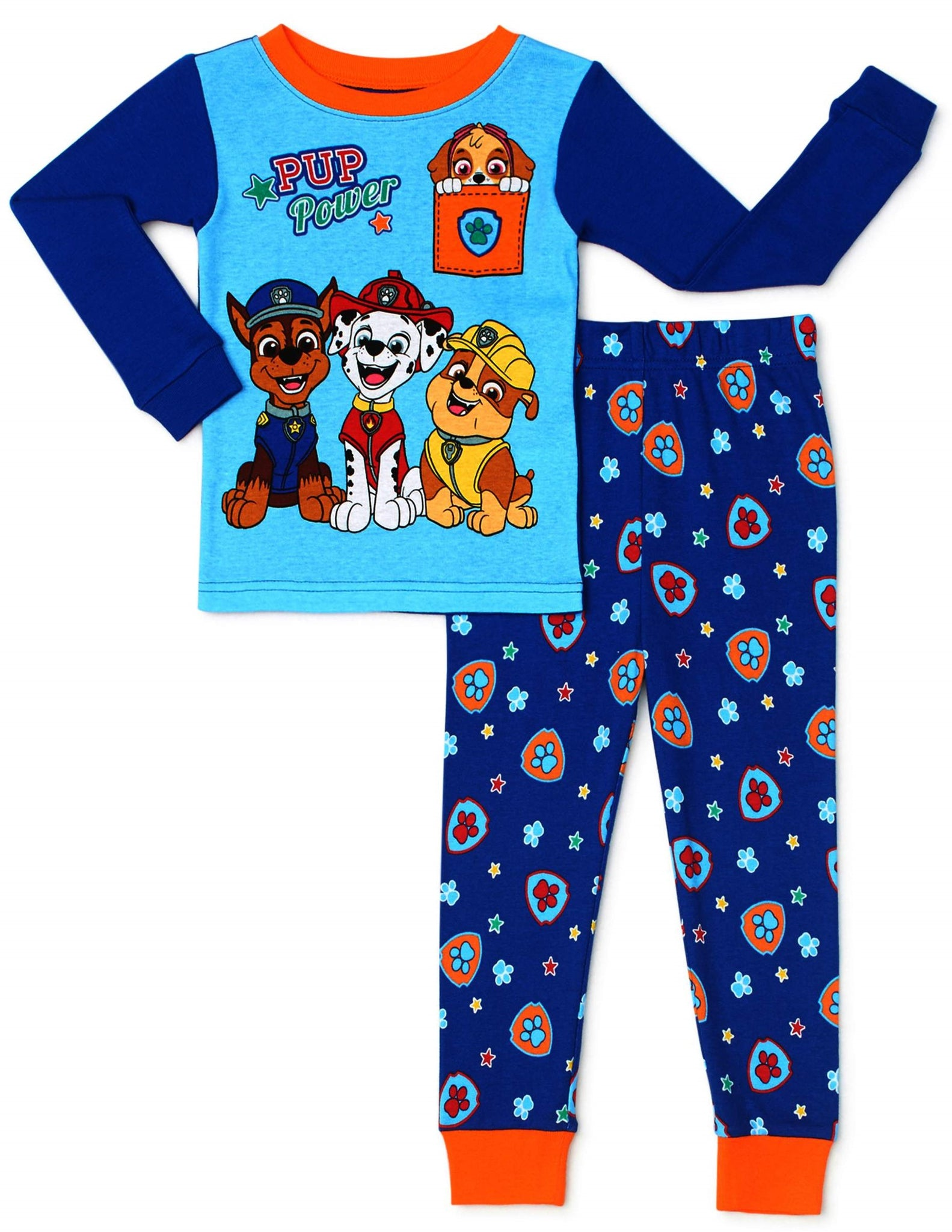 Paw Patrol Pup Power 2pc Boys Toddler Pajama Set 3T