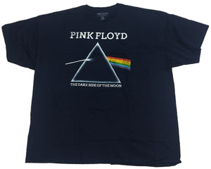 Pink Floyd Dark Side of the Moon Mens T-Shirt (Navy)