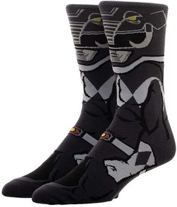 Power Rangers Black Ranger 360° Character Crew Sock