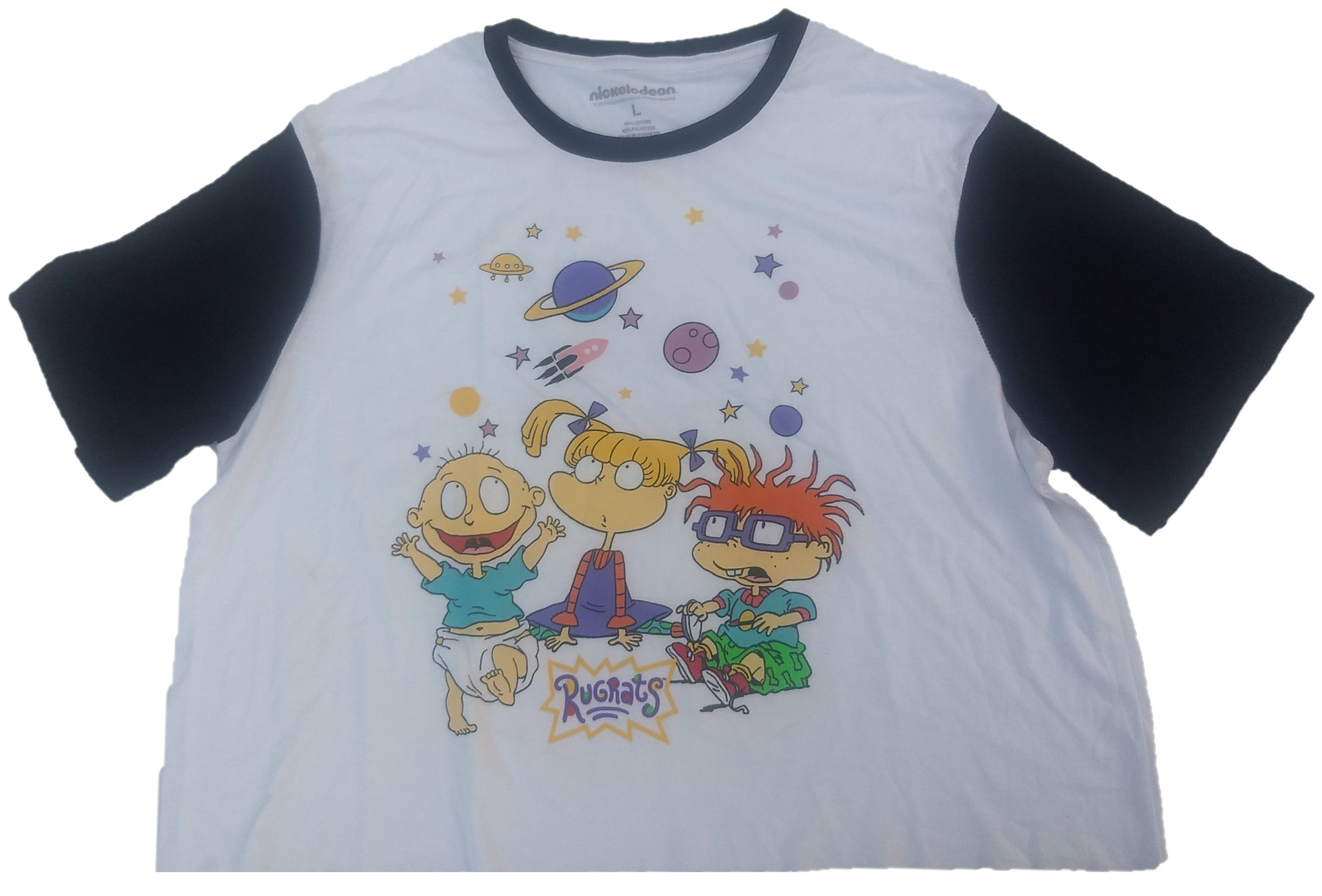 Rugrats Tommy Angelica Pickles Chuckie Finster Juniors Womens Crop Top T-Shirt