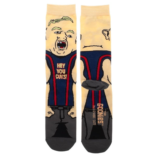 Sloth The Goonies 360° Degree Character Crew Socks