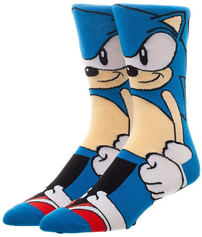 Sonic the Hedgehog 360 Degree Character Crew Socks