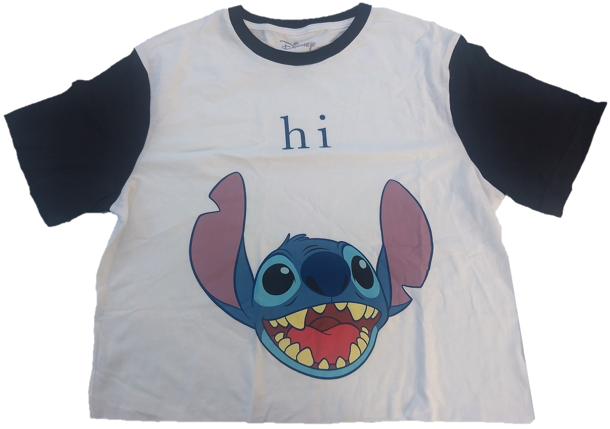Stitch Disney Hi Crop Top Womens T-Shirt