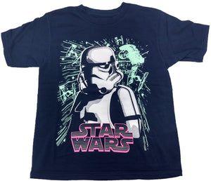 StormTrooper Death Star Tie Fighter Boys T-Shirt