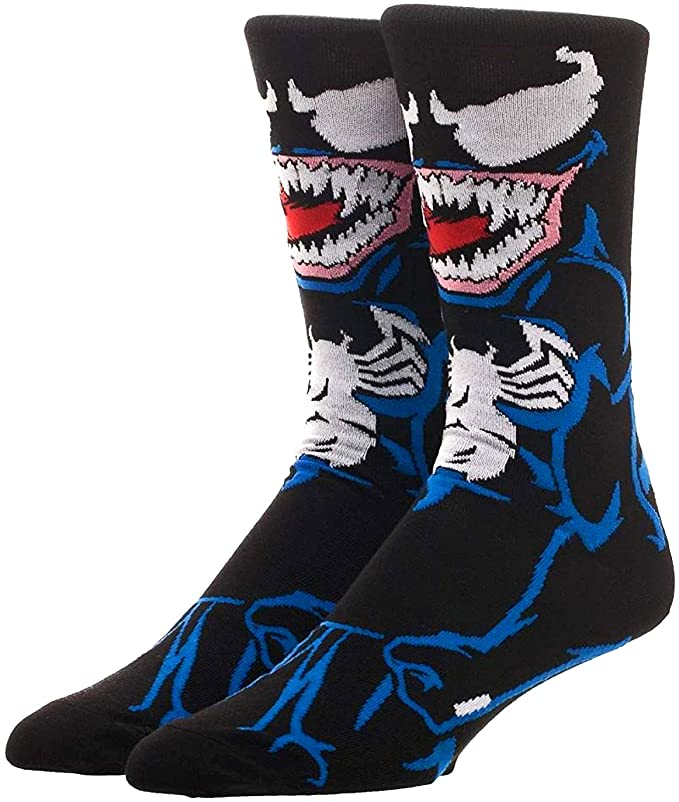 Venom Marvel 360° Degree Character Crew Socks