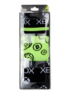 Xbox Official Gear  3 Pair Pack Men's Crew Socks