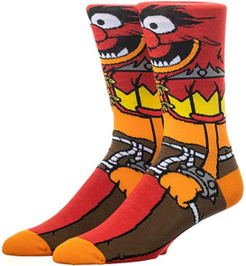 Animal The Muppets Animal 360° Degree Character Crew Socks