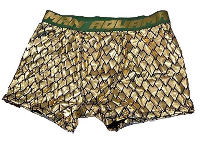 Aquaman Justice League Mens Boxer Briefs Underwear
