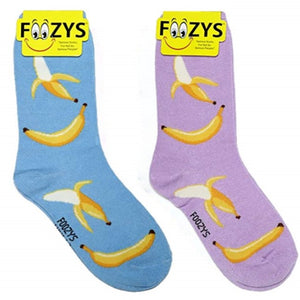Bananas Foozys Womens Crew Socks