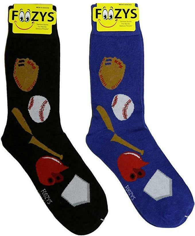Baseball Foozys Men's Crew Socks Foozy