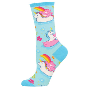 Believe Care Bears Socksmith Womens Crew Socks