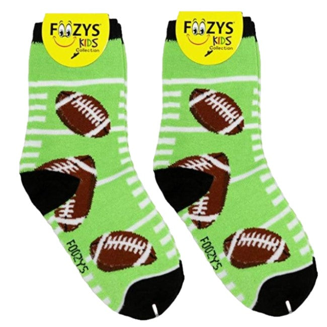 Football Foozys Boys Kids Crew Socks