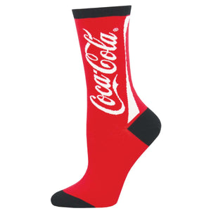 Coca-Cola SockSmith Womens Crew Socks