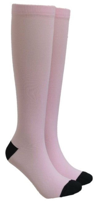 Light Pink Compression Socks