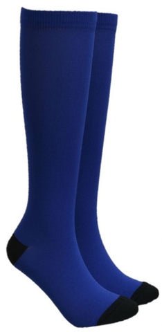 Royal Blue Compression Socks