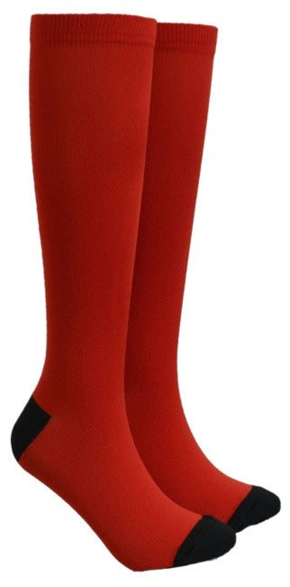 Red Compression Socks