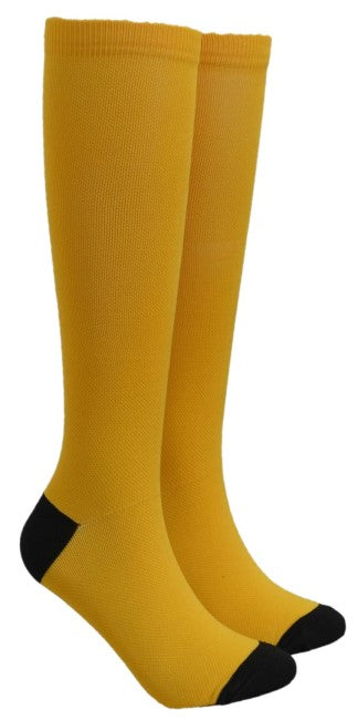 Yellow Compression Socks