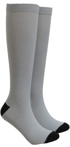 Silver Compression Socks