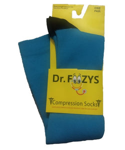 Teal Compression Socks