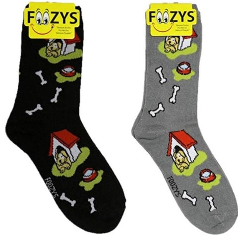 Dog House Foozys Womens Crew Socks
