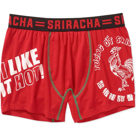 Sriracha I Like it Hot Knit Cotton Blend Boxers Briefs