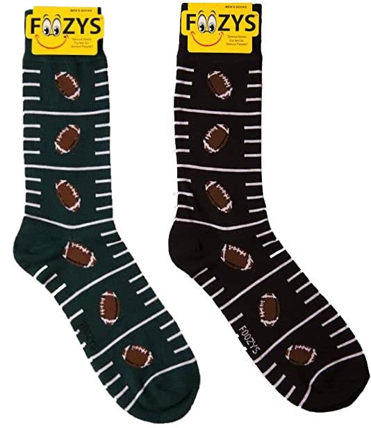 Football Foozys Men's Crew Socks Foozy