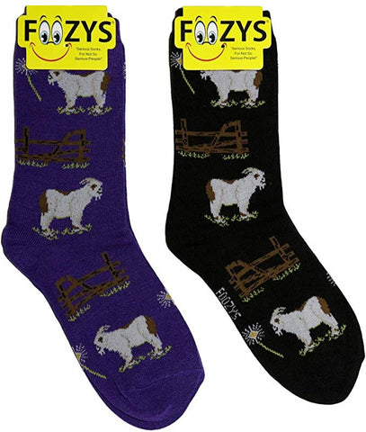 Billy Goats Foozys Womens Crew Socks