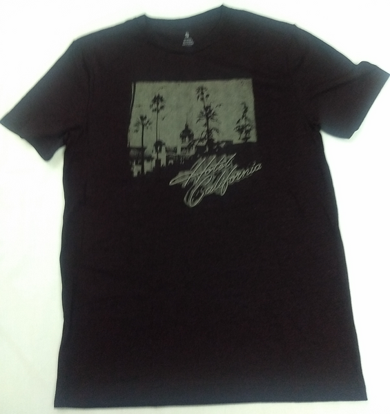 Eagles Hotel California Rock Music Band Licensed Men's t-shirt