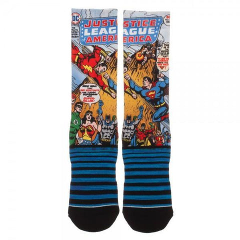 Justice League Crew Socks